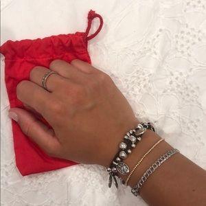 UNO de 50 Silver Bracelet